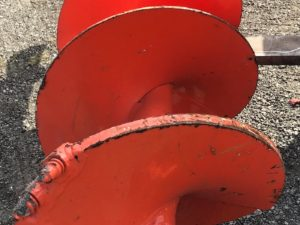 Rock Auger For Digger Derrick