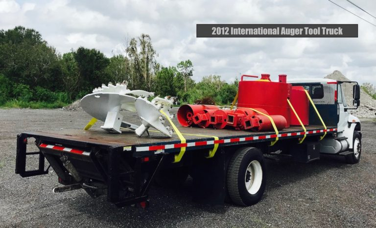 Auger Tool Truck For Sale
