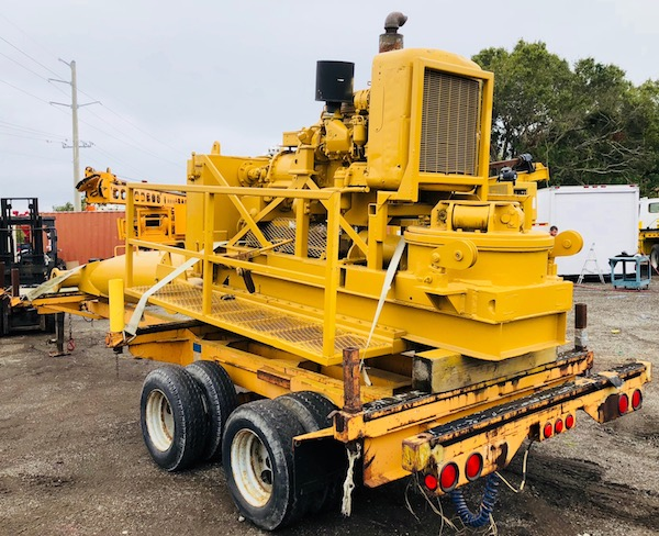 Crane Mount Piling Drill For Sale