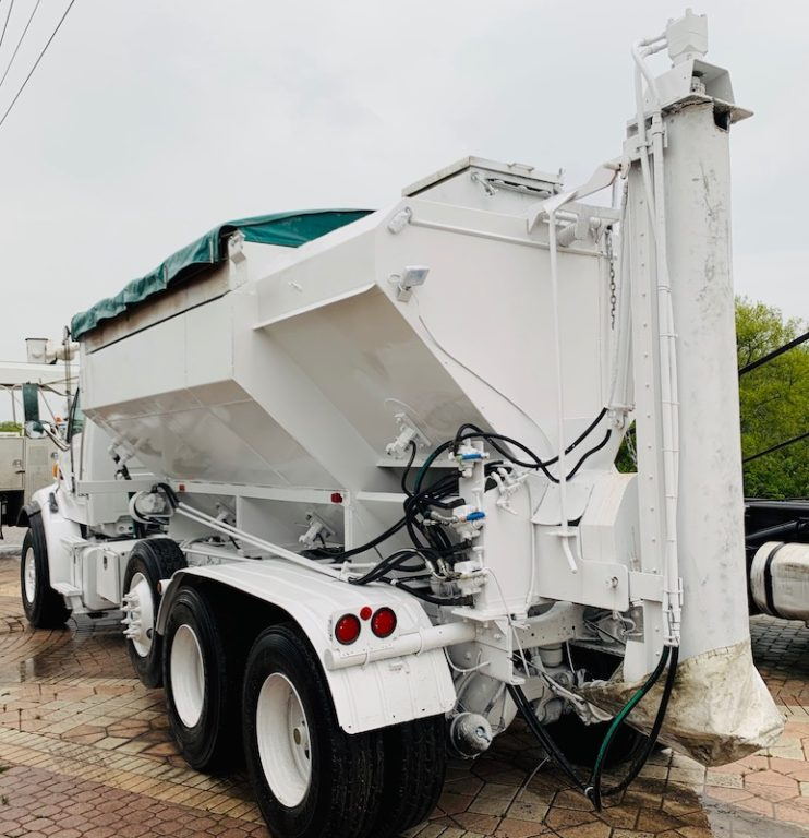 Gunite Batch Shortcrete Concrete Truck