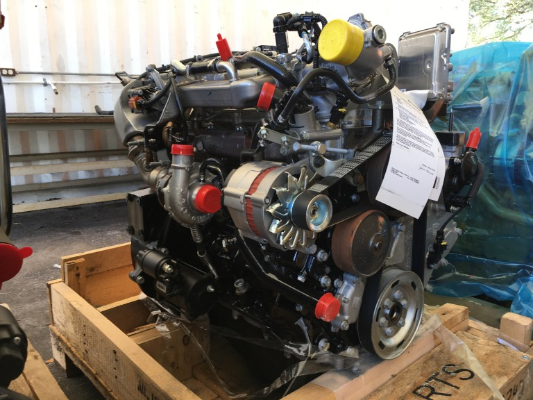 Perkins 3.4L Diesel Motor NEW UNUSED