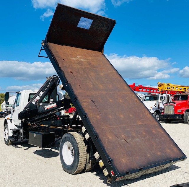 Knuckle Boom Dump Truck For Sale