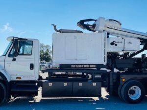 Bayshore Digger, Low Mast, Low Clearance Drill, Short Mast,