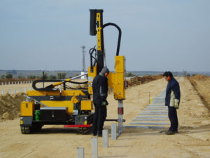 Solar Pile Driver For Rent Guardrail Driver For Rent
