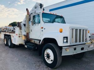 Tire Manipulator Service Trucks For Sale