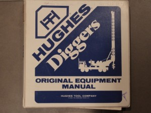 Parts Manual for Hughes LDH 100T Digger