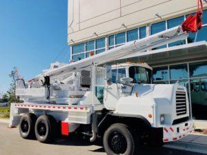 Altec Pressure Digger Truck