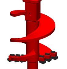 Carbide Foundation Auger