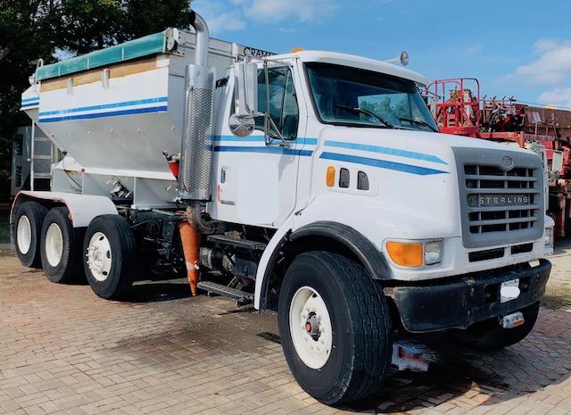 Volumetric Concrete Mobile Mixer Gunite Truck