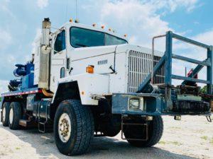 Seismic Vibrator Truck