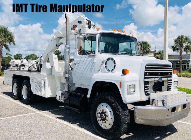 Tire Manipulator Truck