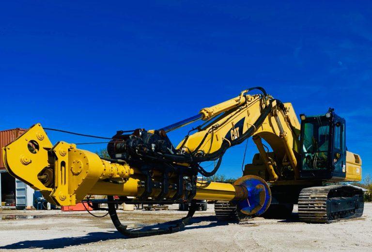 Excavator drill Rental