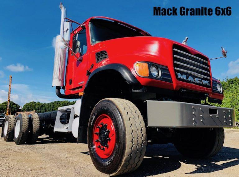 Mack Granite 6x6