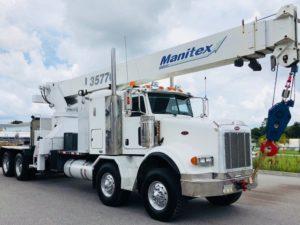 Manitex 3577C Boom Crane Truck