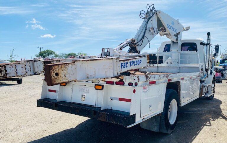 OTR Tire Service Crane Truck