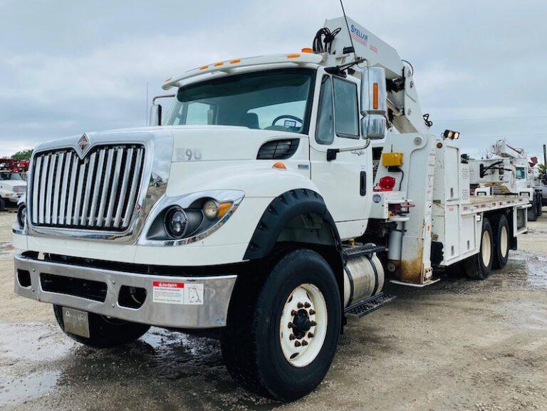 OTR Truck Tire Service Crane STELLAR 28000