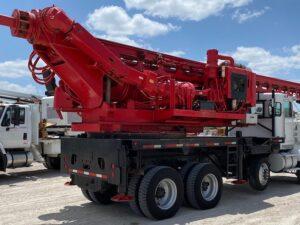 Powerline Construction Digger Truck