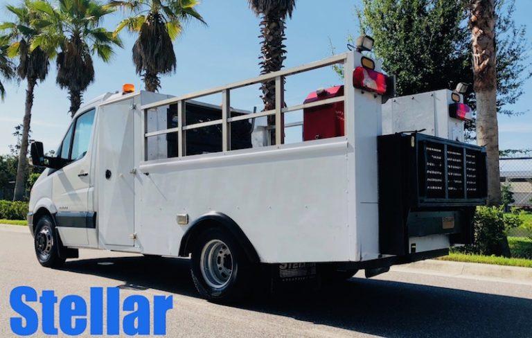 Stellar Tire Service Van