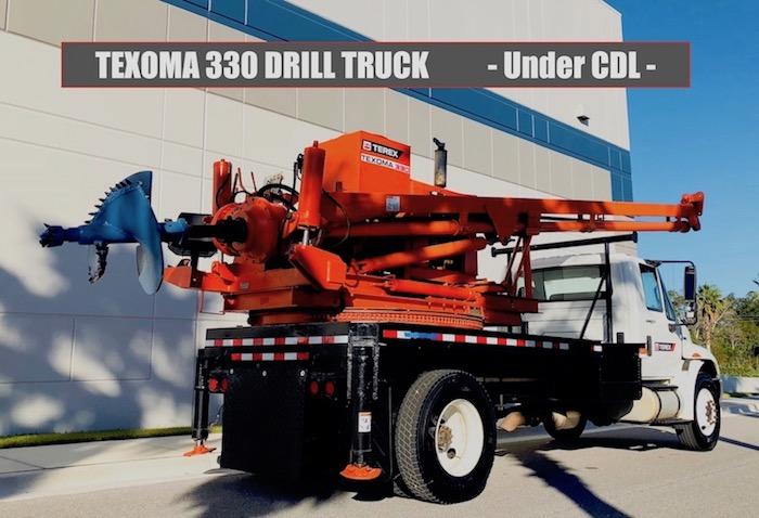 Texoma 330 Digger Truck