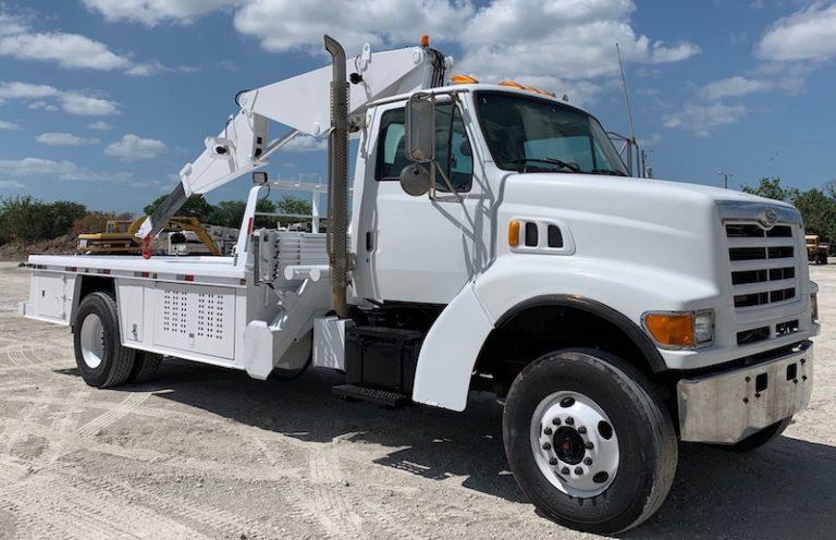 Tire Boom Trucks For Sale