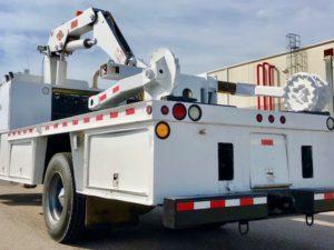 OTR Tire Service Truck