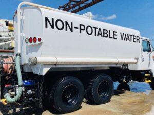 Water Tank Trucks