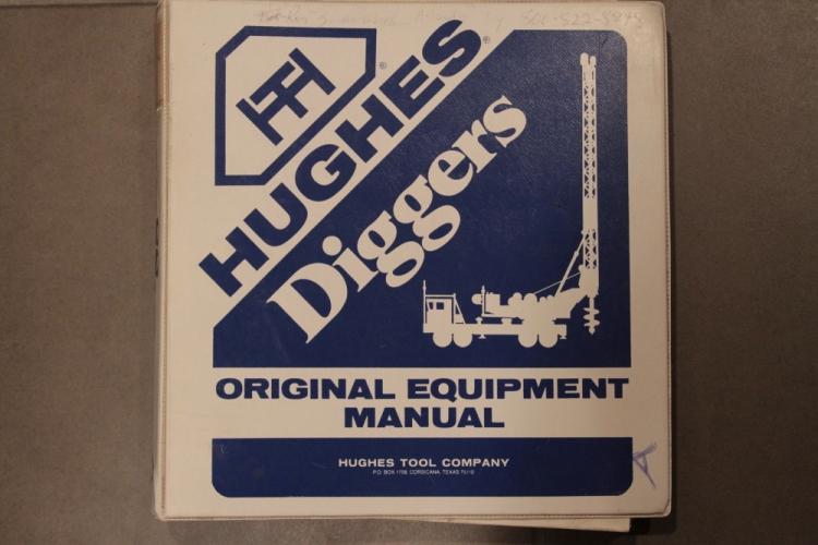 Parts Manual for Hughes LDH 100T Digger